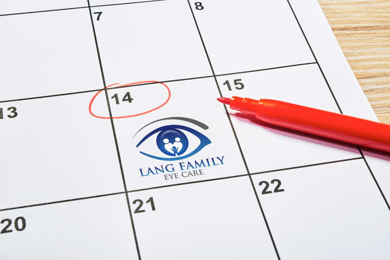 Lang Family Eye Care Appointments